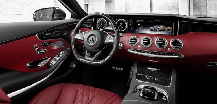 used 2015 mercedes benz s class interior in carson city