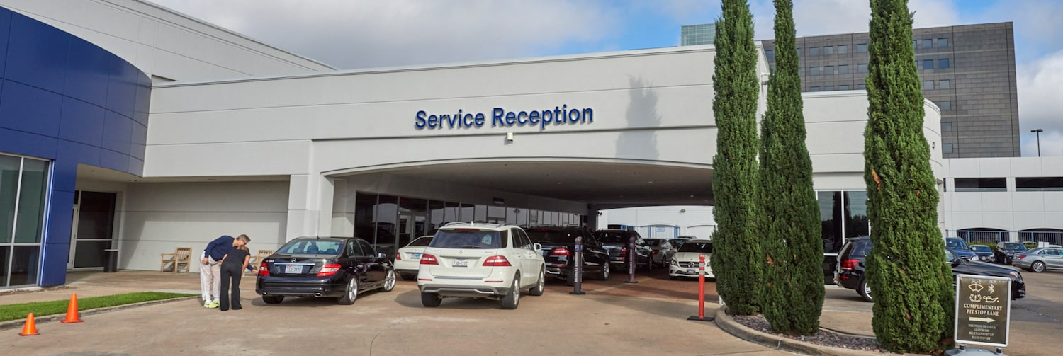 Service your mercedes benz houston tx mercedes benz of for Mercedes benz dealers houston