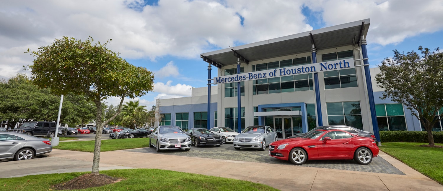 About mercedes benz houston north mercedes benz of for Mercedes benz dealers houston