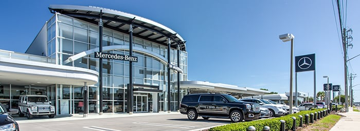 Mercedes benz of jacksonville new mercedes benz for Mercedes benz dealers in florida