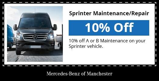 Service specials mercedes benz of manchester nh for Mercedes benz service b specials