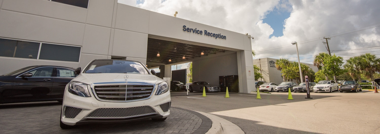 Service your mercedes benz miami fl mercedes benz of miami for Mercedes benz service centre