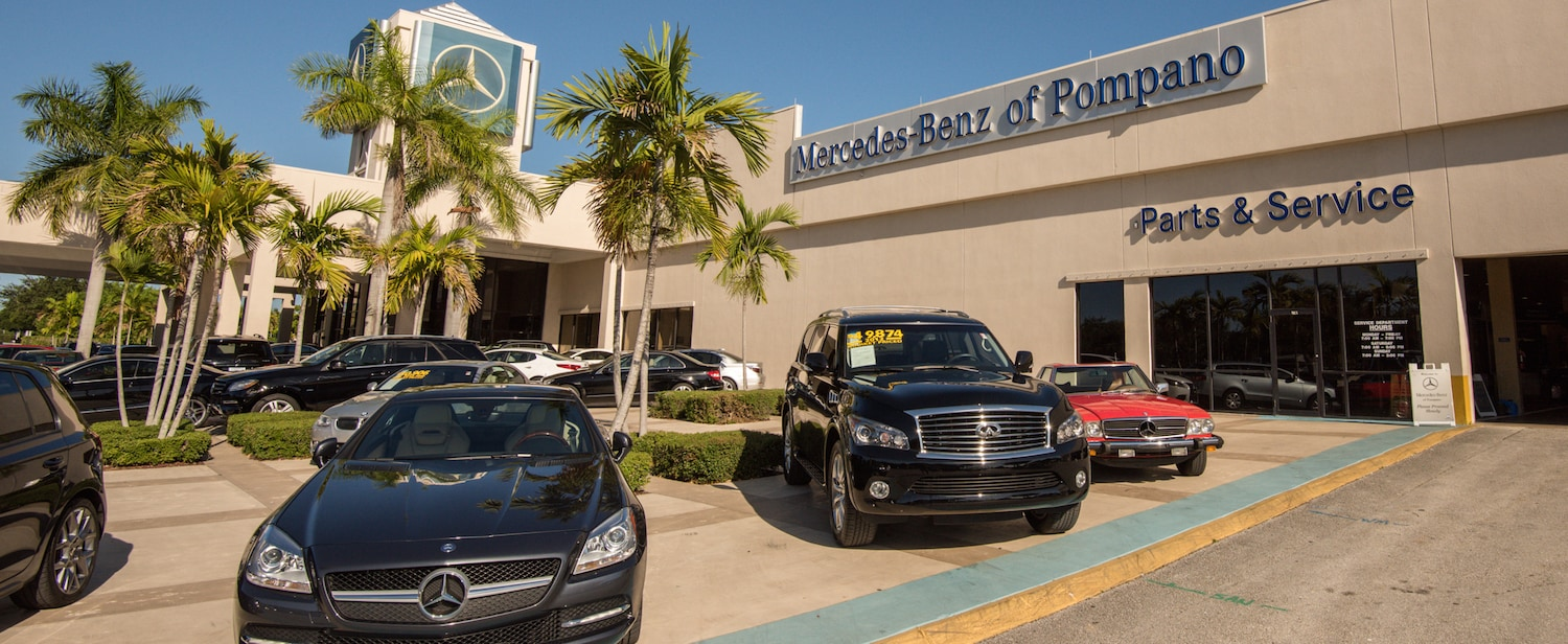 Mercedes benz of pompano service center mercedes benz of for Mercedes benz rockville centre service