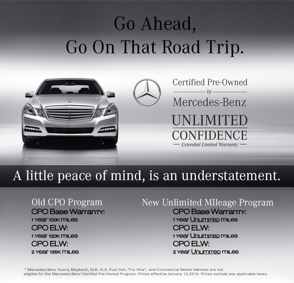 Mercedes benz of portland mercedes benz certified pre for Mercedes benz cpo warranty