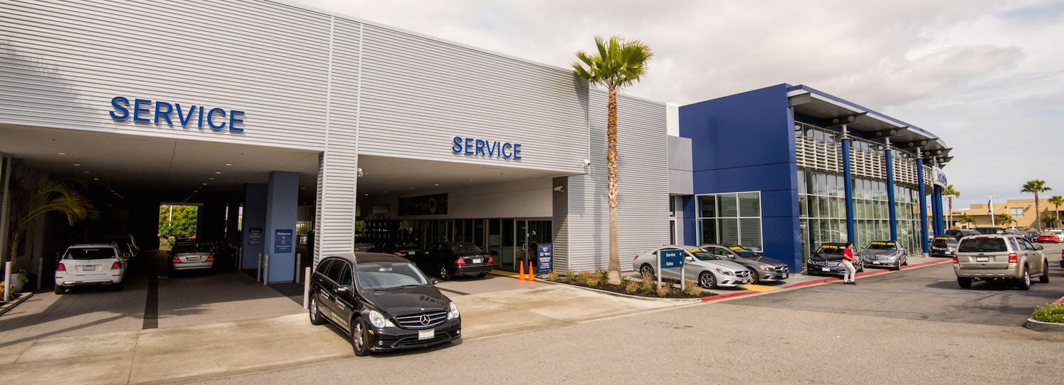 Mercedes service torrance ca mercedes benz of south bay for Authorized mercedes benz service centers near me