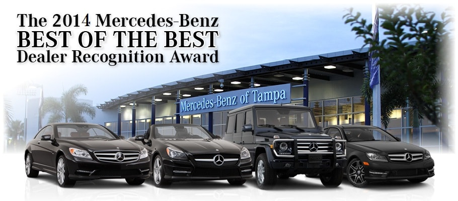Mercedes benz service tampa for Mercedes benz dealers bay area