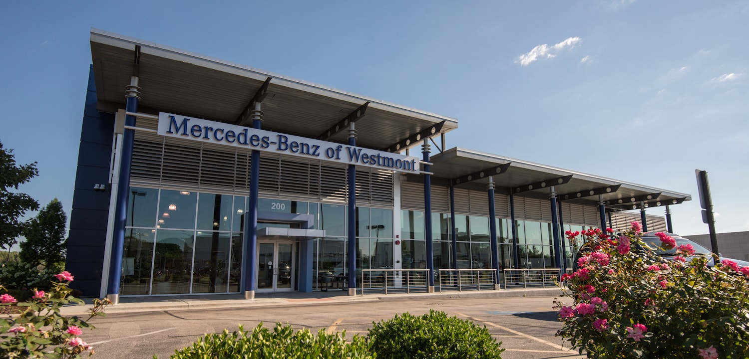 The mercedes benz dealership committed to excellence