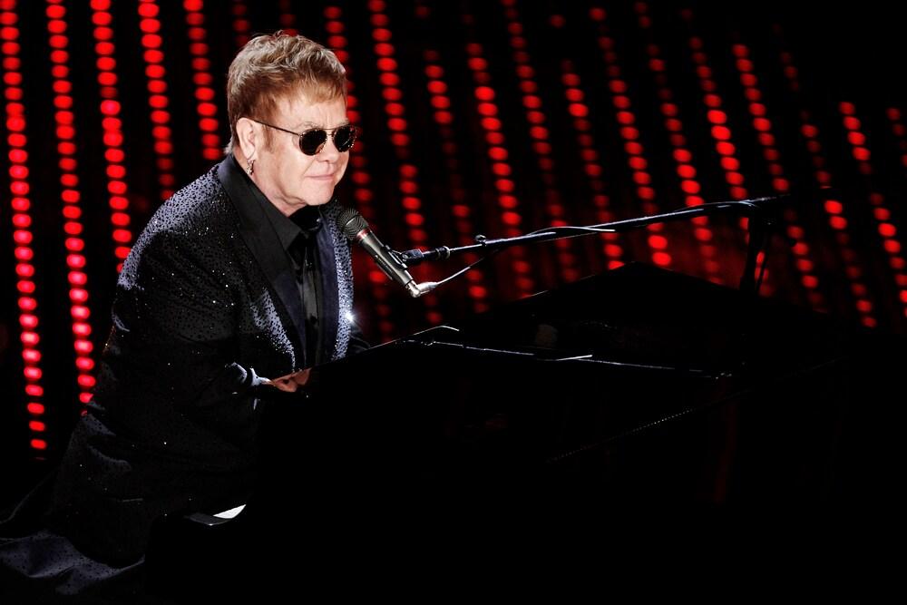 Elton John Sells Luxury Mercedes at Auction
