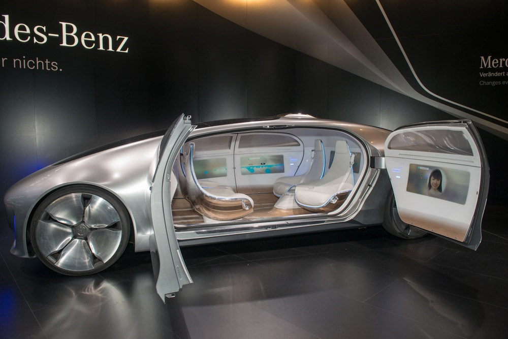 Why thenew Mercedes-Benz modelF 015 Luxury in Motion is Turning Heads