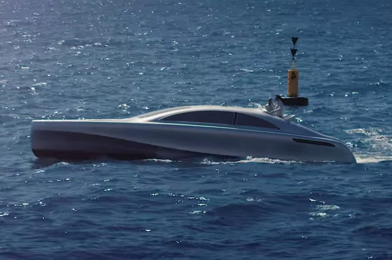 Taking to the Water in a Mercedes Luxury Yacht