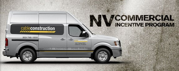 Nissan NV mercial Incentives in Winchester VA