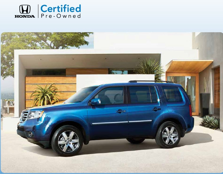 Honda certified pre owned program midlands honda for Honda used certified