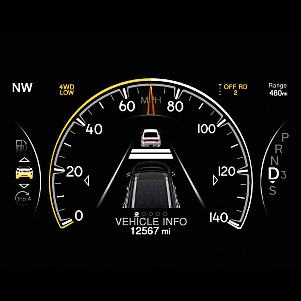 Adaptive Cruise Control with Stop (ACC Stop)