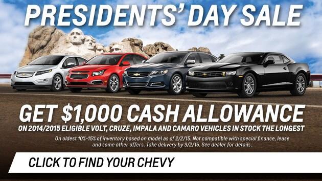 Phoenix Presidents Day Car Sales