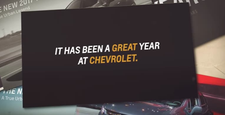 Chevy Year in Review