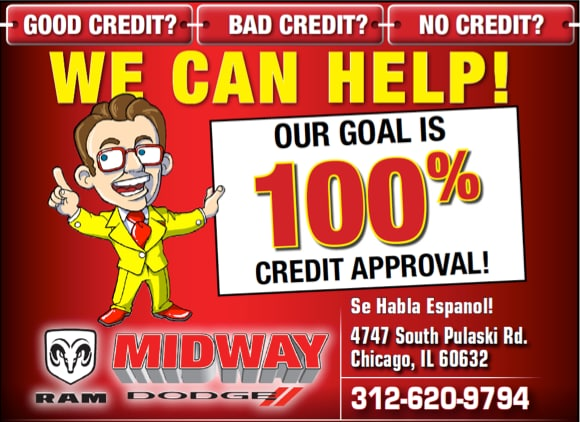 100% credit approval on auto loan chicago il