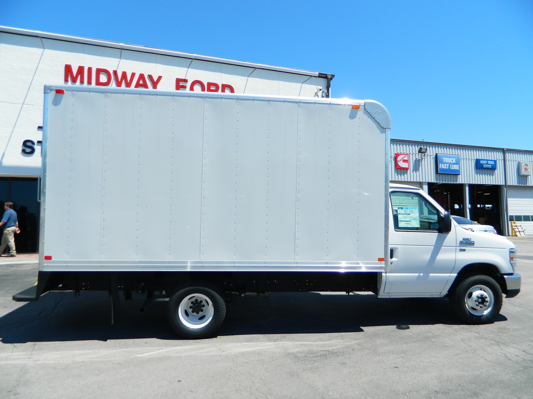 ford box truck for sale