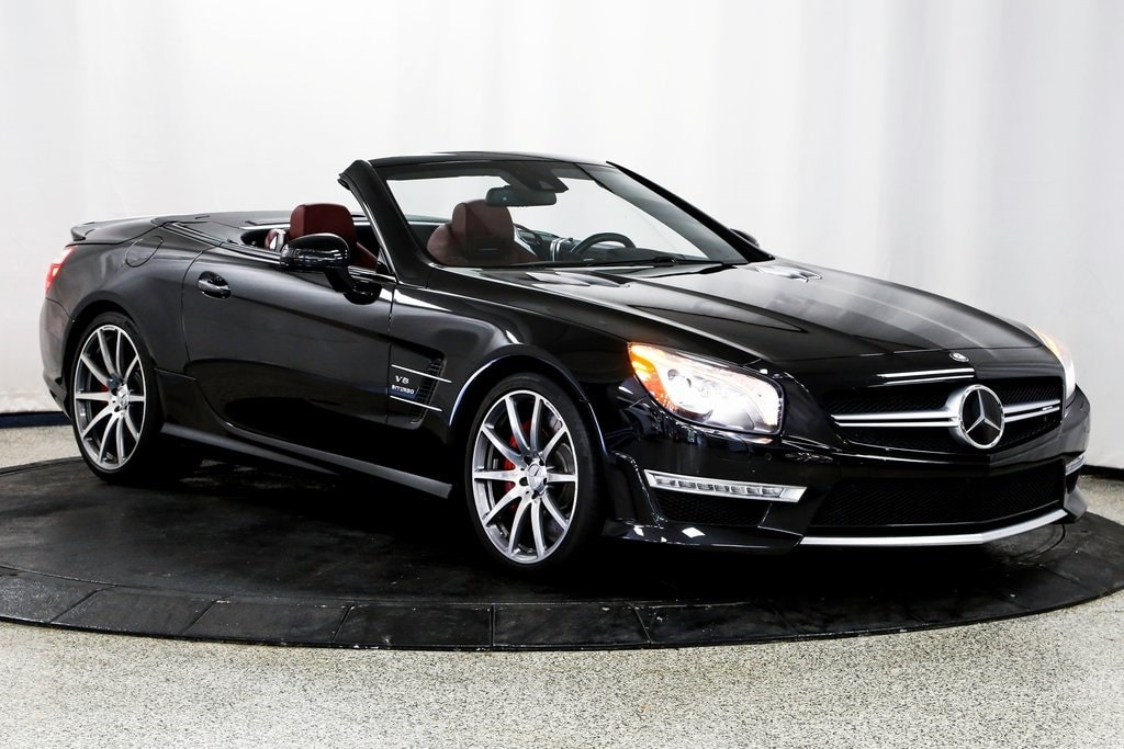 2015 Mercedes-Benz SL SL 63 AMG Roadster for sale in Lake Zurich, IL at Midwest Motors