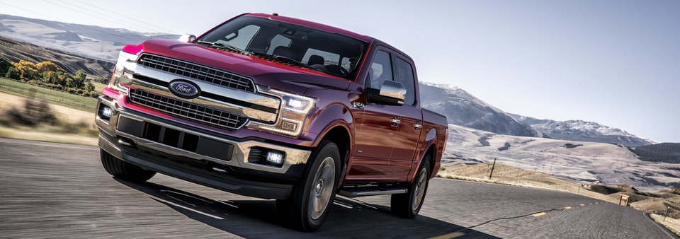2018 Ford F-150 Truck Leases in Ohio