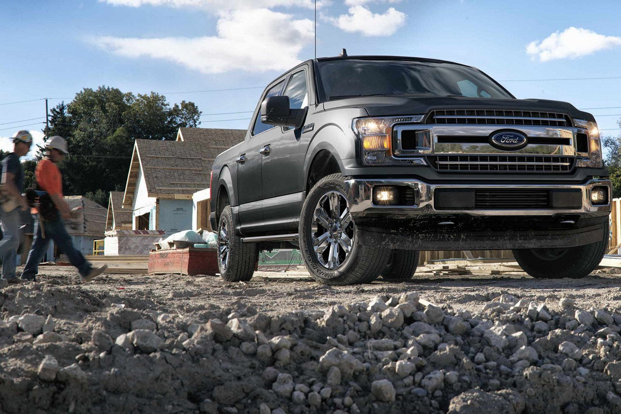 2018 Ford F-150 XLT SuperCrew in Magnetic