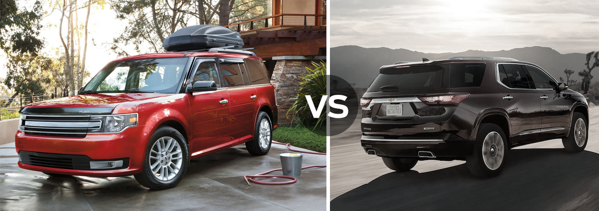 Ford Flex vs Chevrolet Traverse