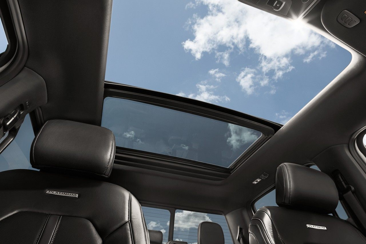 2018 F-150 Twin-Panel Moonroof