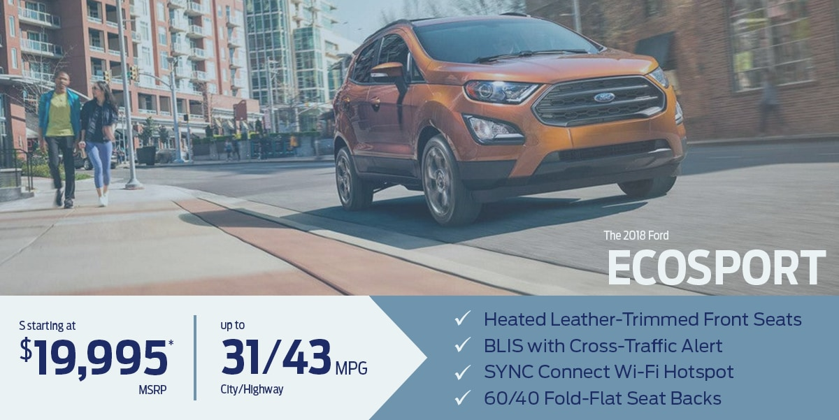 Learn more about the all-new Ford EcoSport
