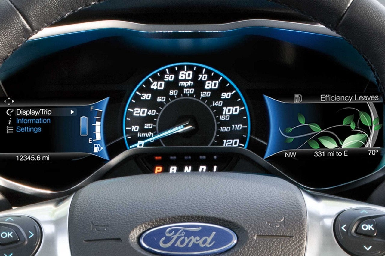 Ford C-Max Hybrid SmartGauge with EcoGuide