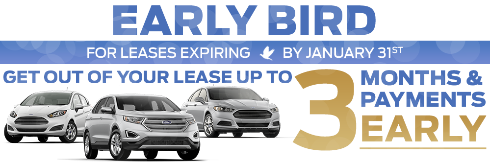Get out of your lease up to 3 months early!
