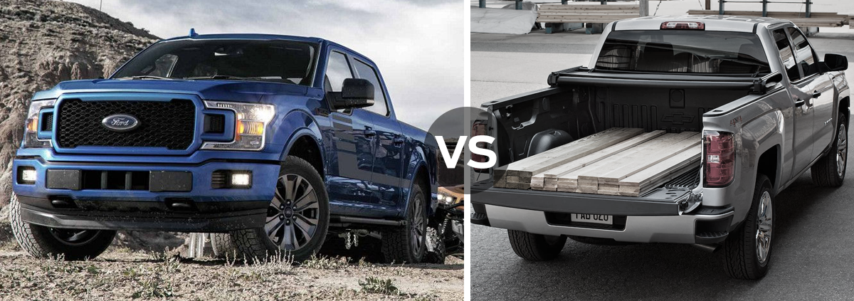 Ford F-150 vs Chevrolet Silverado