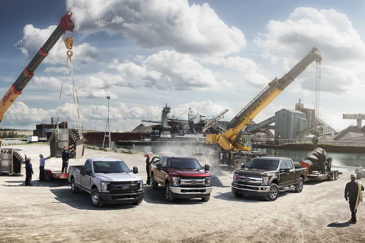 Super Duty Line of Model Configurations