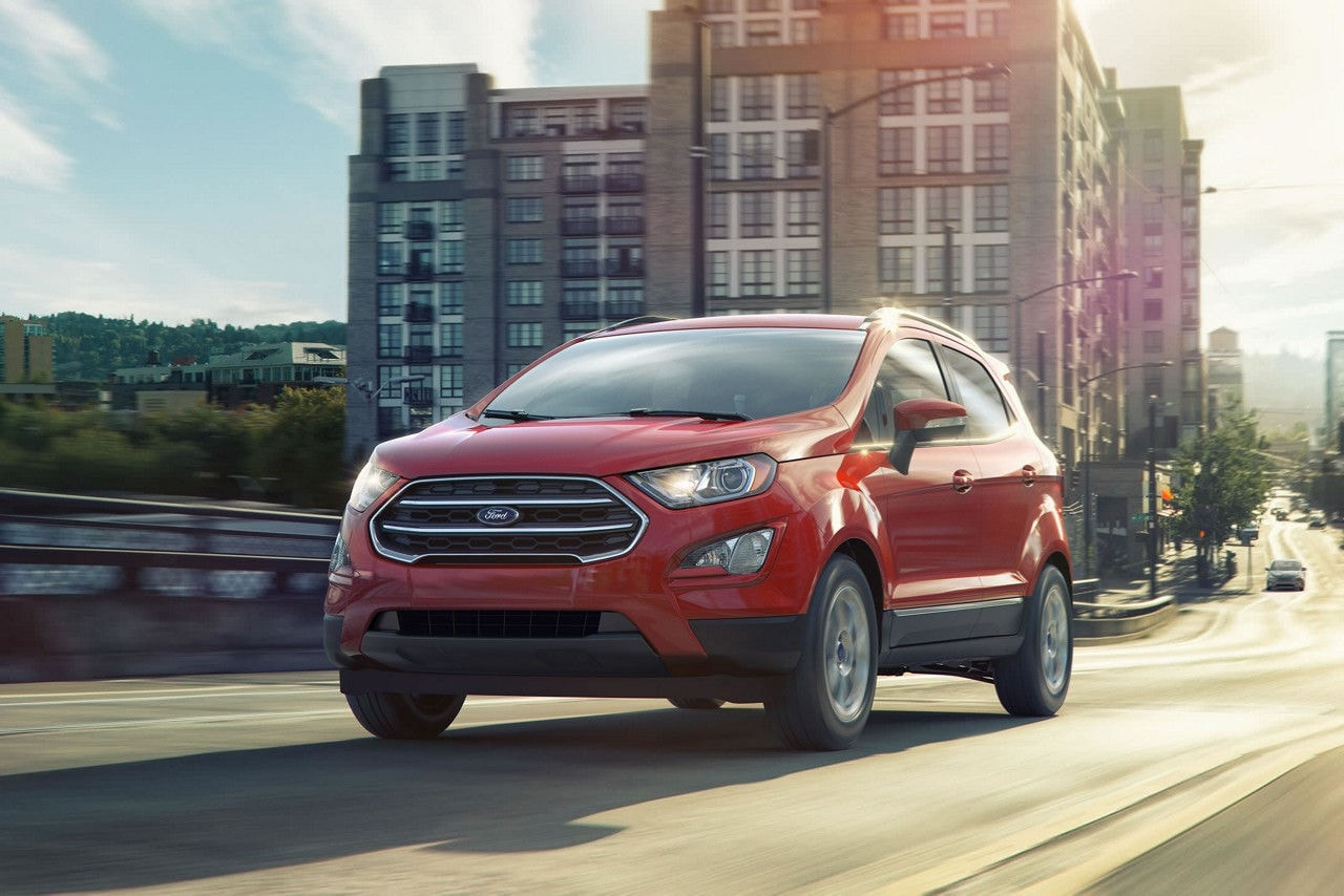 Ford EcoSport SE in Race Red