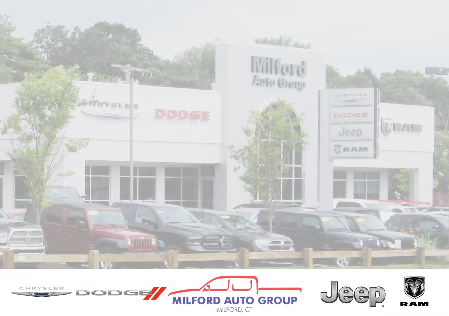 Milford Chrysler Dodge Jeep Ram Expect The Best New