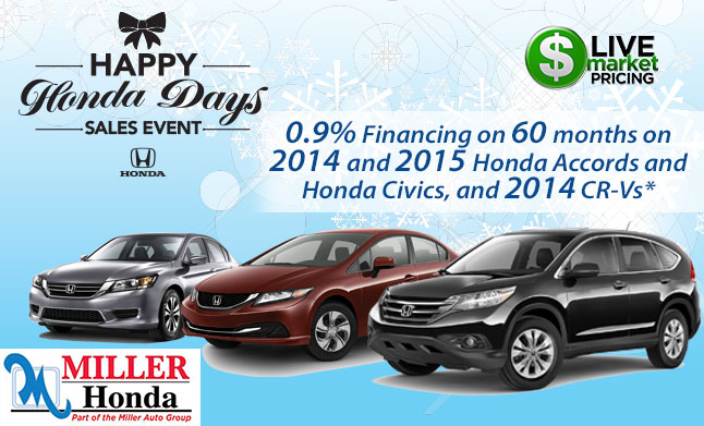 Happy Honda Days Sales Event 2014 Sales Event | Happy Honda Days