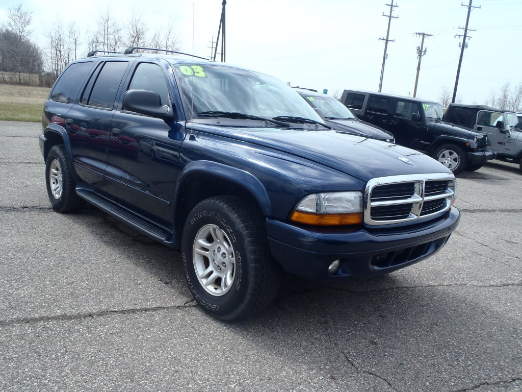 used 2003 dodge durango for sale imlay city mi. Black Bedroom Furniture Sets. Home Design Ideas