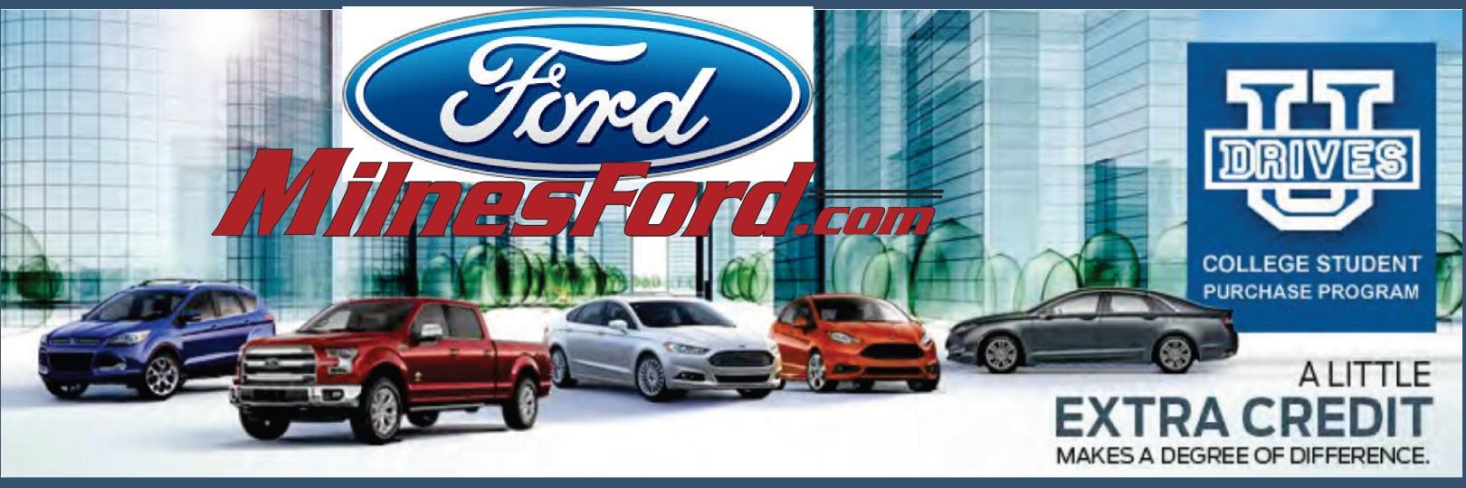 milnes ford inc new ford dealership in lapeer mi 48446. Black Bedroom Furniture Sets. Home Design Ideas