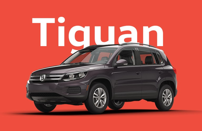 The VW Tiguan