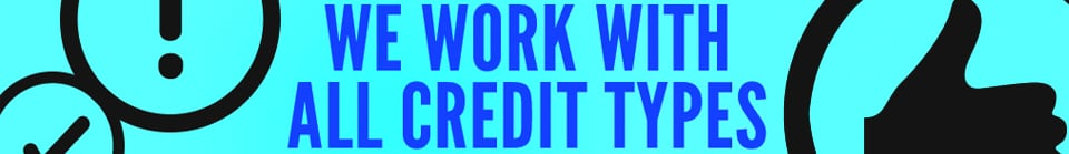 We Work With Al Credit Types!