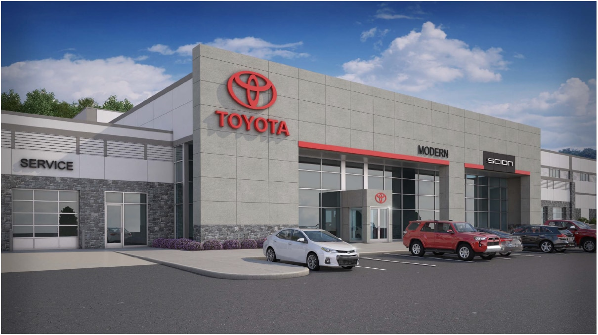Modern Toyota Of Boone New Toyota Dealership In Boone