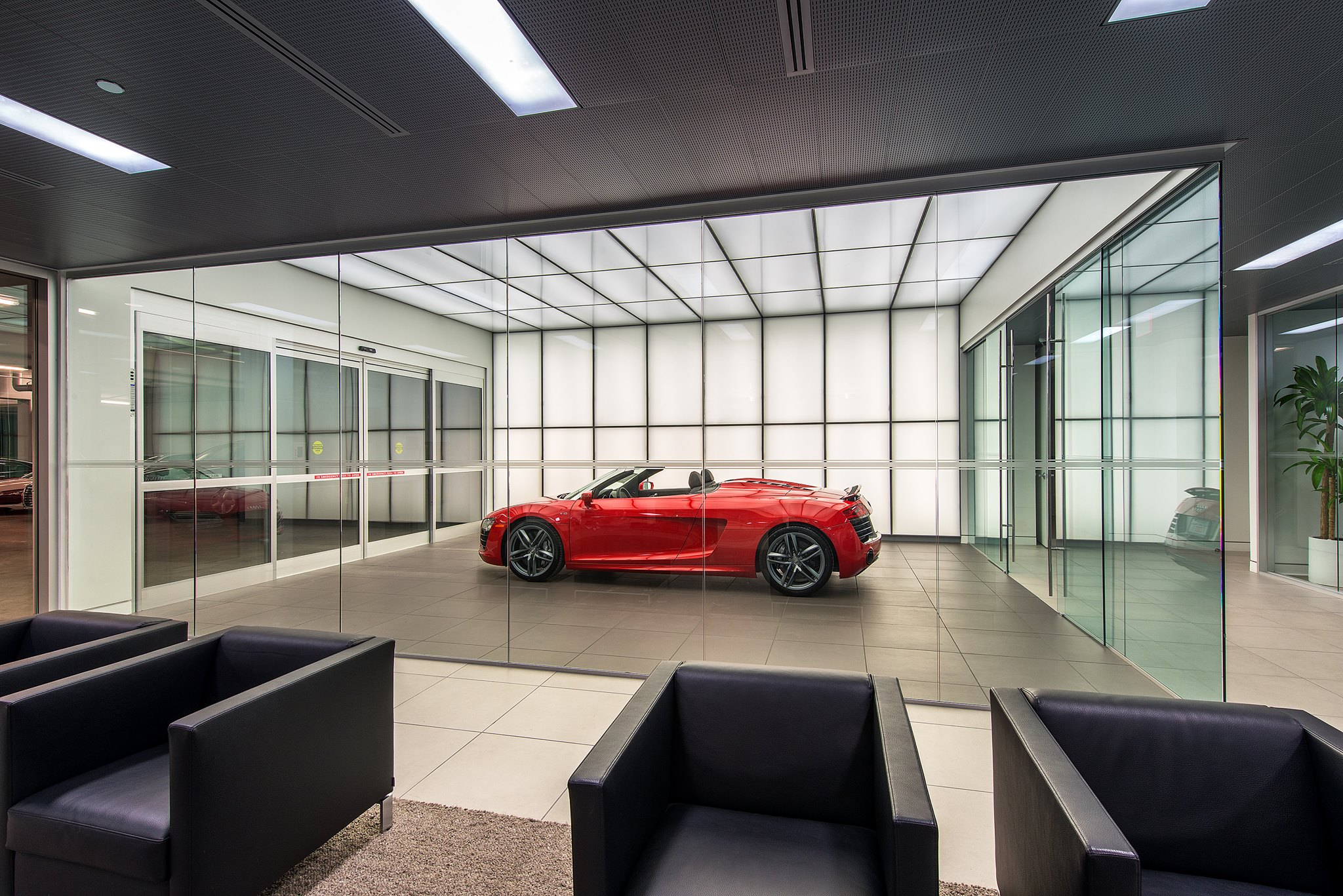 Audi Central Houston Facility