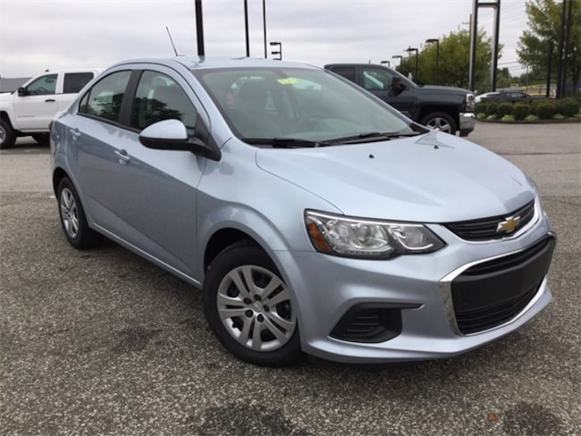 new 2017 Chevrolet Sonic LS Sedan in Louisville