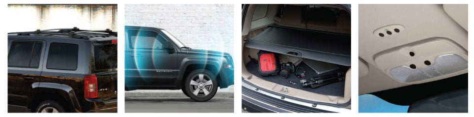 2017 Jeep Patriot Safety & Securty Features