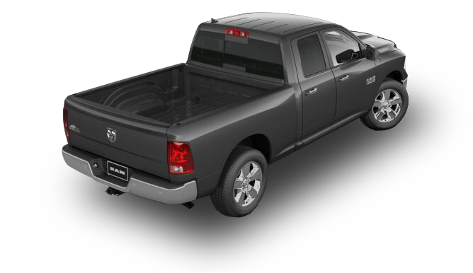 2017 RAM 1500 Big Horn Rear View