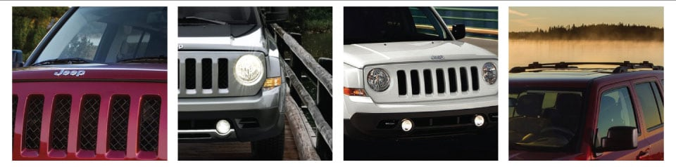 2017 Jeep Patriot Exterior Features