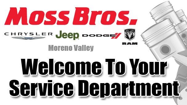 Chrysler Jeep Dodge RAM Service Center in Riverside ...