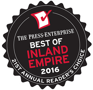 Voted #1 Best Auto Group of Inland  Empire - 2016 Press Enterprise Readers' Choice Awards