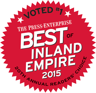 Voted #1 Best Auto Group of Inland Empire - 2015 Press Enterprise Readers' Choice Awards
