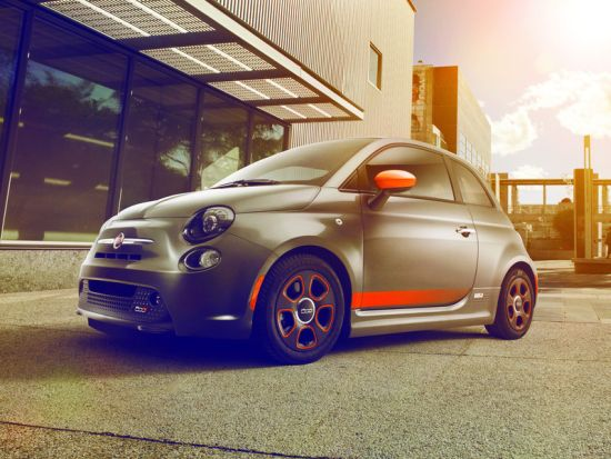 FIAT 500e Electric Vehicle