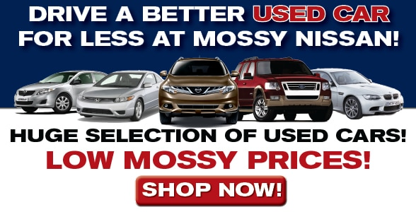 Used Car Dealer in San Diego - Mossy Nissan | Used Cars For Sale