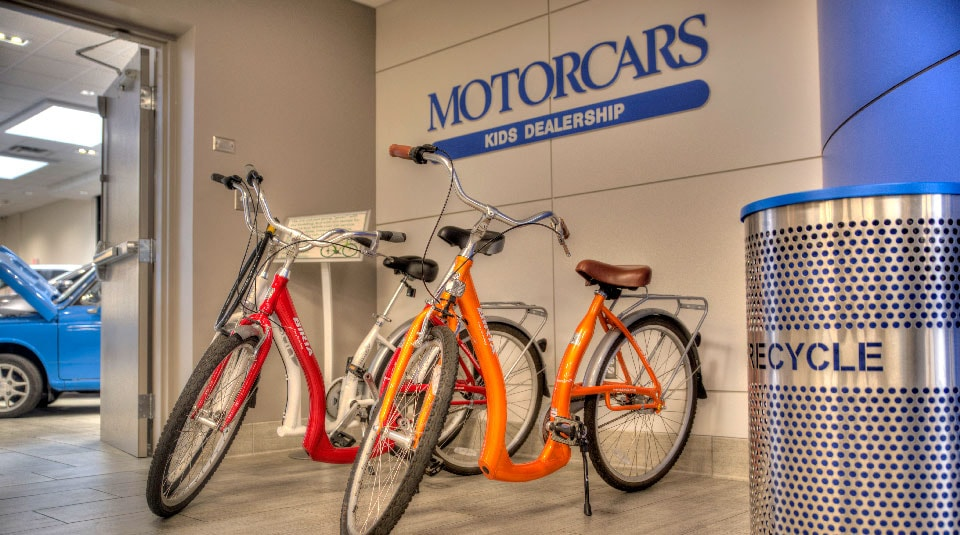 The World's First Children's Honda Dealership